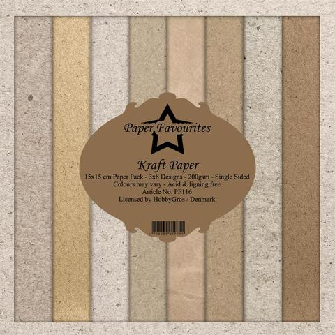 "Paper Favourites Paper Pack ""Kraft Paper"""