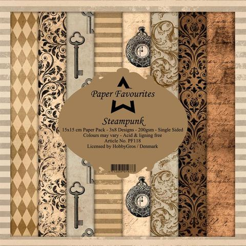 "Paper Favourites Pack ""Steampunk"""