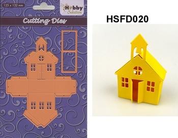 Nellie Snellen/Hobby Solution Die - School house