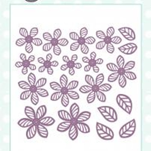Creative Expressions Die, CED1402 Faux Quilled Blooms Dies
