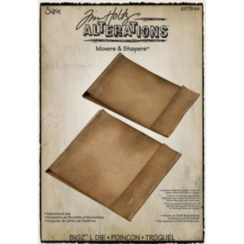 657844 Sizzix L-die matchbook set 2 sizes