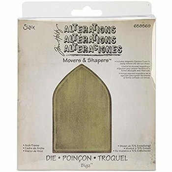 658569 Tim Holtz Sizzix Movers & Shapers die - arch frame