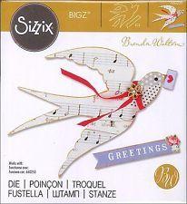 660259 Sizzix bigz, flying bird
