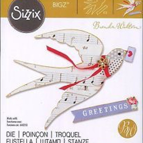 660259 Sizzix bigz, flying bird