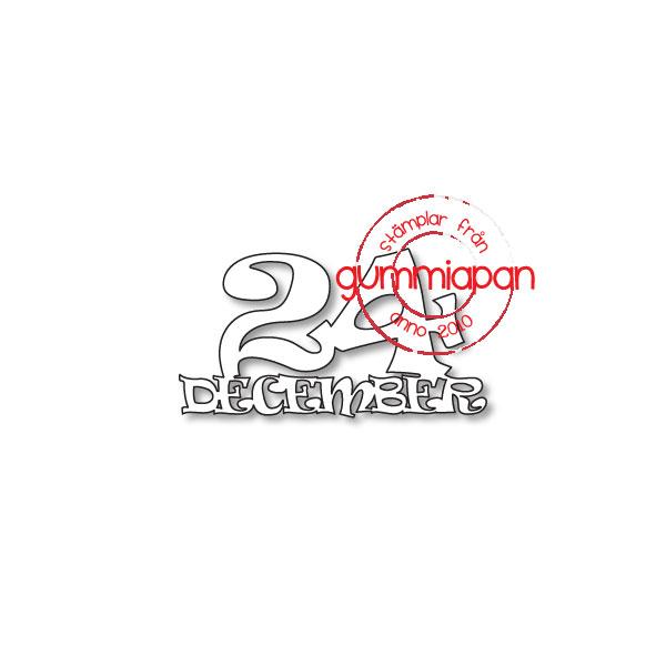 Gummiapan Dies, 24  D180935