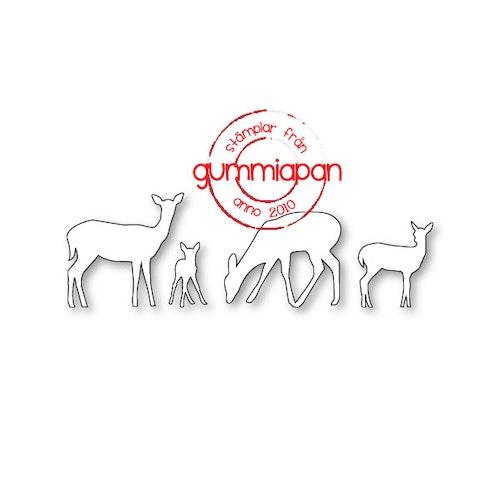Gummiapan Dies, Rådjur D180941