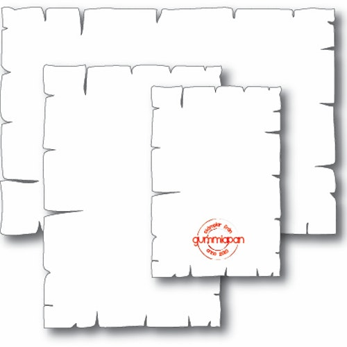 Gummiapan Dies, Old Letter D170523