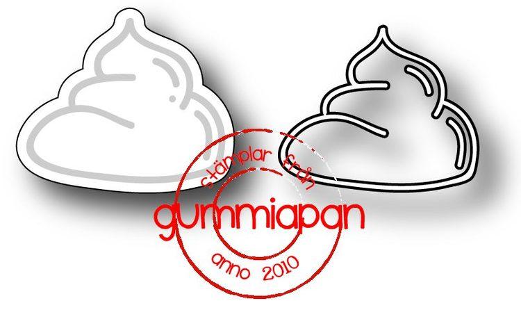 Gummiapan Dies, Poo D171037