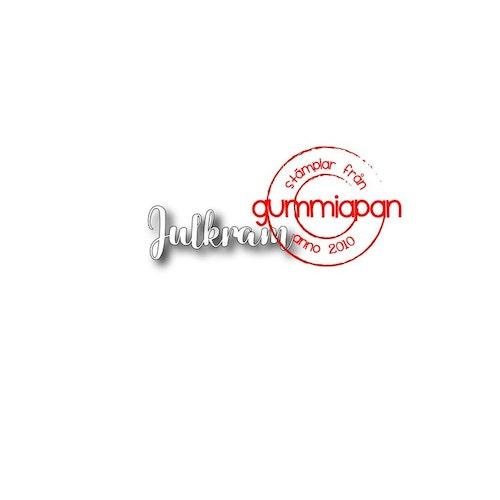 Gummiapan Dies, Julkram 1 D191008