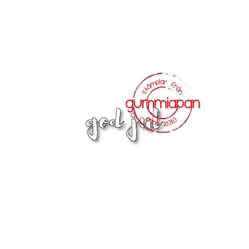 Gummiapan Dies, God jul D180938