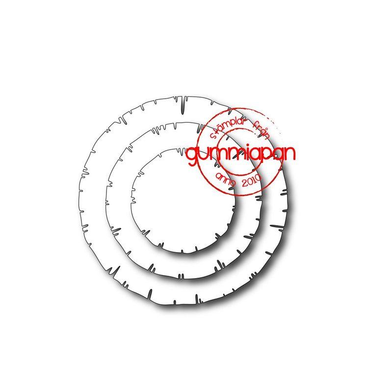 Gummiapan Dies, Old Circles D190207