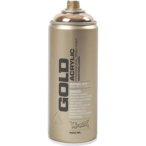 Montana Gold, sprayfärg, 400ml, Koppar