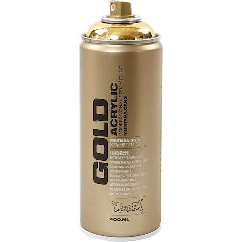 Montana Gold, sprayfärg, 400ml,  Guld