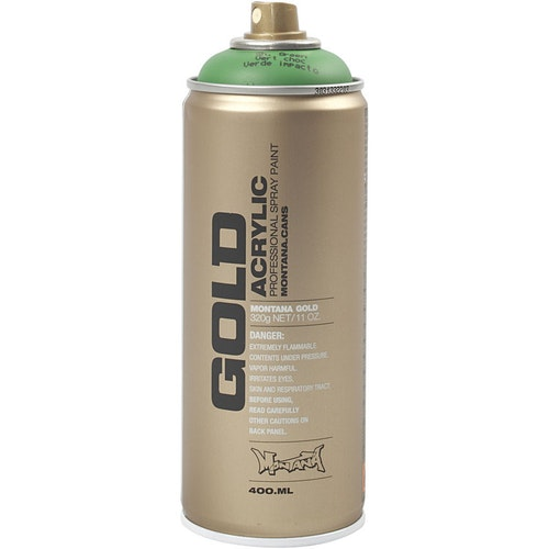 Montana Gold, sprayfärg, 400ml,  Grön