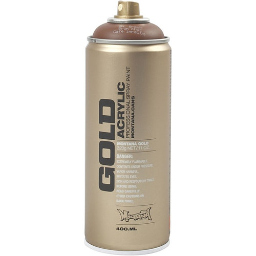 Montana Gold, sprayfärg, 400ml,  Brun