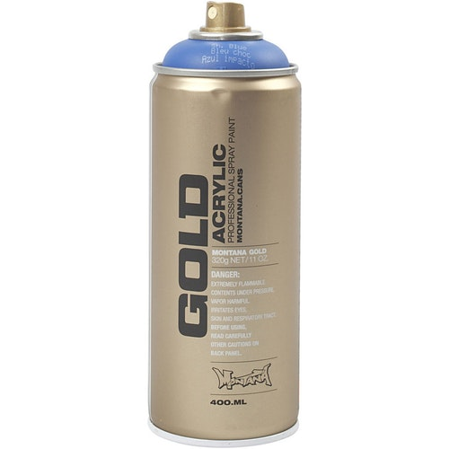 Montana Gold, sprayfärg, 400ml, Blå