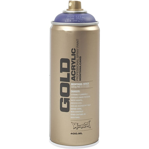 Montana Gold, sprayfärg, 400ml, Lila