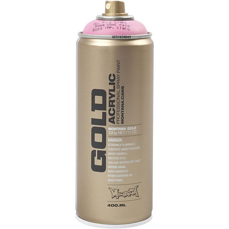 Montana Gold, sprayfärg, 400ml, Rosa