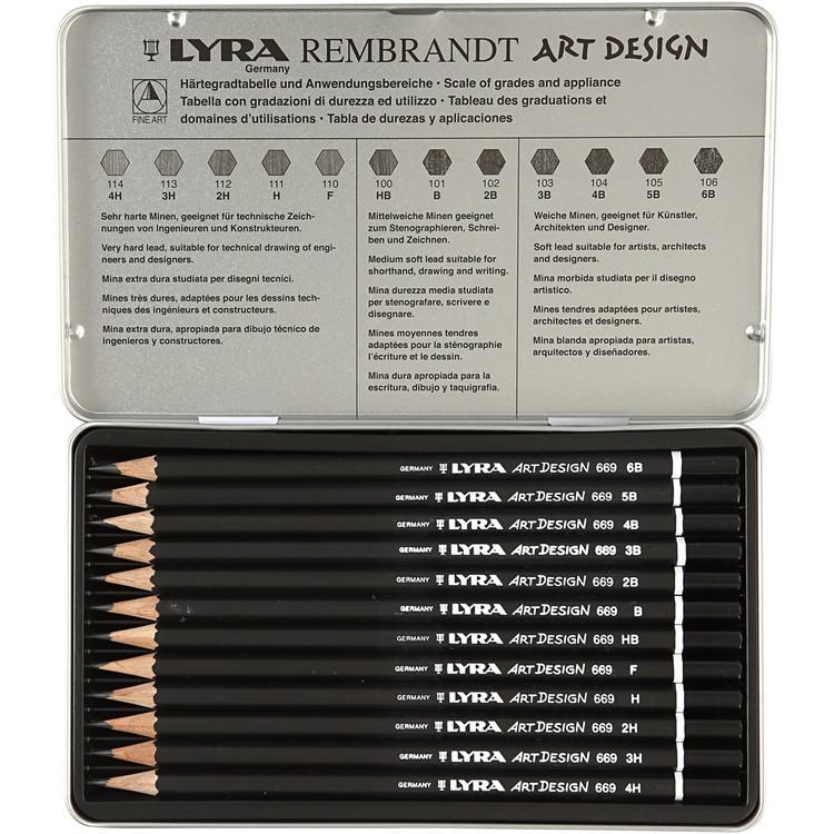 Lyra Art Design blyertspennor