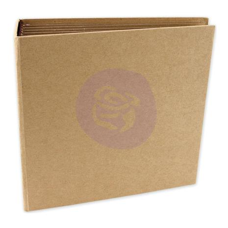 "Prima Frank Garcia Memory Hardware Chipboard Album - 8""x8"""