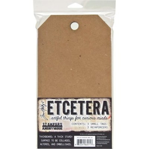 Tim Holtz Etcetera, Thickboard small 3 st