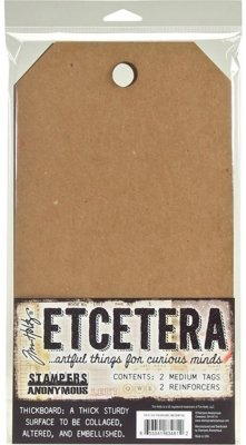 Tim Holtz Etcetera, Thickboard medium 2 st