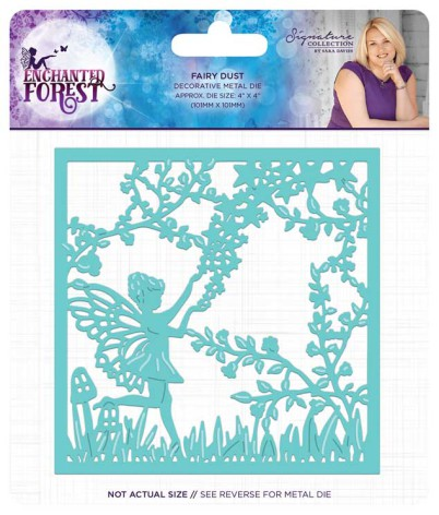 Crafters companion Enchanted Forest Metal Die - Fairy Dust