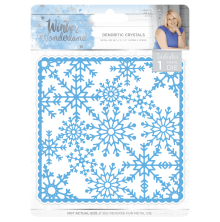 Crafters companion Winter Wonderland Metal Die - Dendritic Crystals