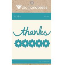 Diamond Press Word Dies - Thanks