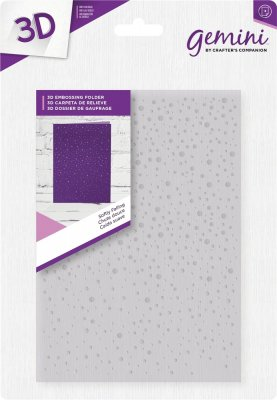 Crafters Companion3D Embossing Folder - Softly falling