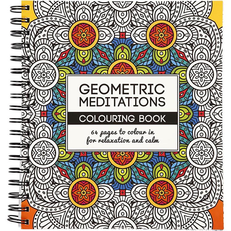 Coloring Book,  Geometric meditations
