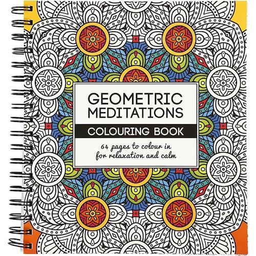 Coloring Book,  Geometric meditations