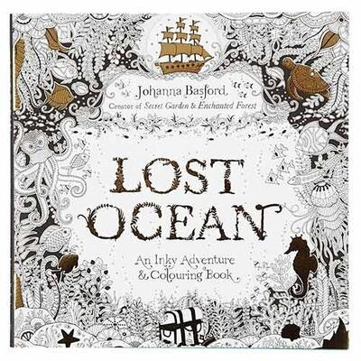 Coloring Book, Lost ocean