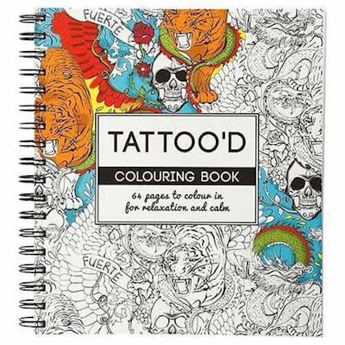 Coloring Book, Tatoo