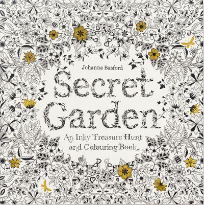 Coloring Book, Secret Garden