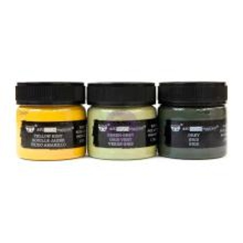 Prima Finnabair Art Extravagence Rust Paste Set - military