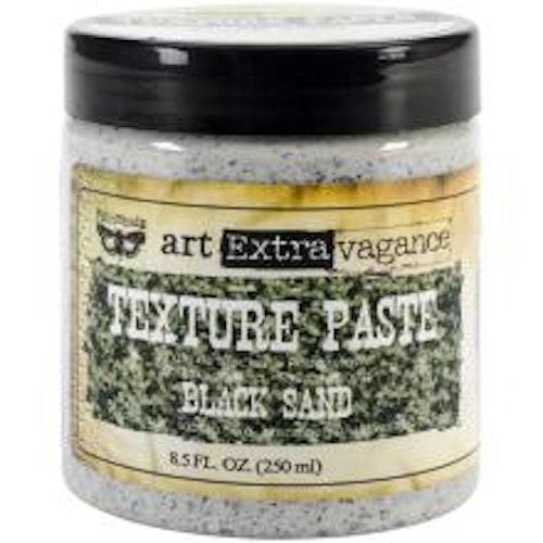 Prima Finnabair Art Extravagance Texture Paste 250ml - Black sand