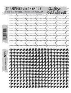 Stampers Anonymous Tim Holtz CMS258, Tailored & houndtooth