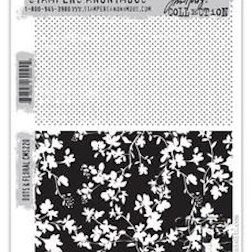Stampers Anonymous Tim Holtz CMS220, Dots & floral