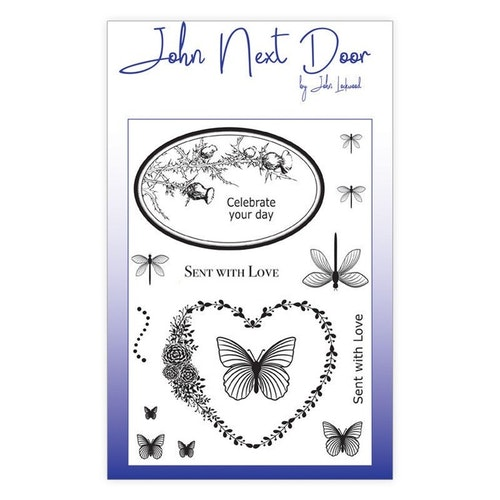 John Next Door, JND0007, Butterfly Frames