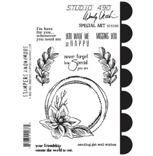 Stampers Anonymous, Wendy Vecchi Cling Stamps - Special Art