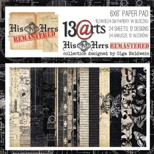 13 arts paper pad 6x6 - His and hers remastered