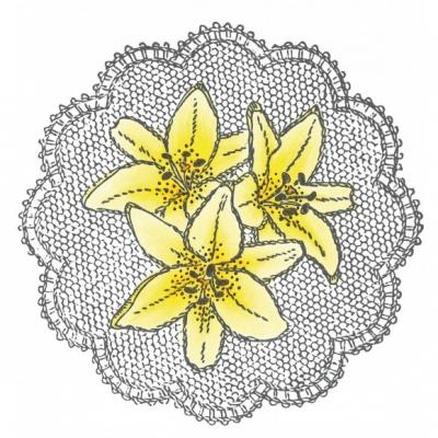 Marianne Design Cling stamp - liljor