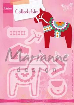 Marianne Design Die - collectables - Dalahäst