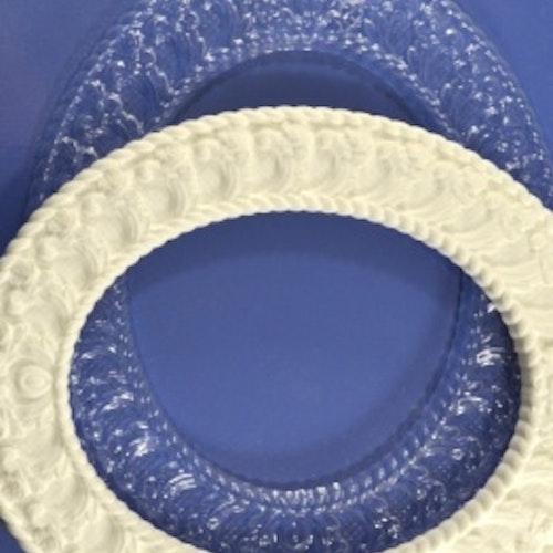 Plastic form, ProSvet, ARTPMD0009 Oval Ram 180x150 mm