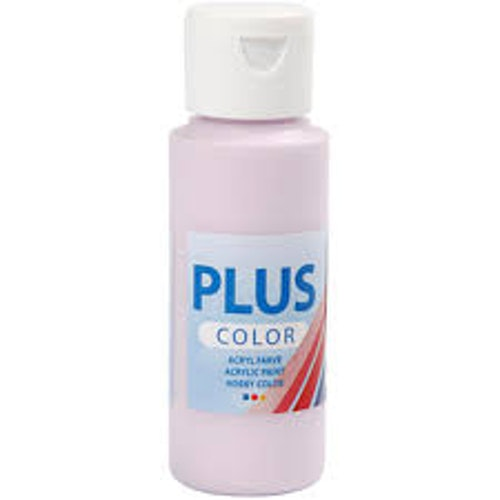 Plus Color hobbyfärg, Pale pink, 60ml