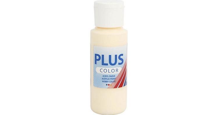 Plus Color hobbyfärg, pale yellow, 60ml