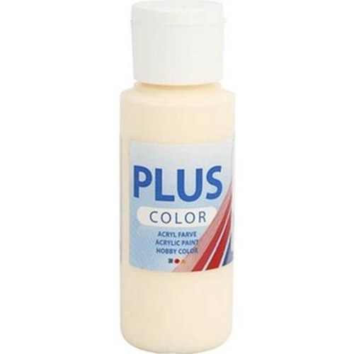 Plus Color hobbyfärg, pale yellow, 60ml