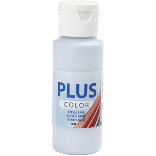 Plus Color hobbyfärg, light blue, 60ml