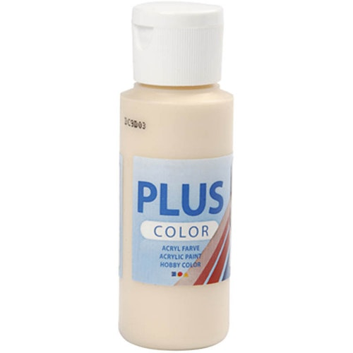 Plus Color hobbyfärg, fleshtone, 60ml